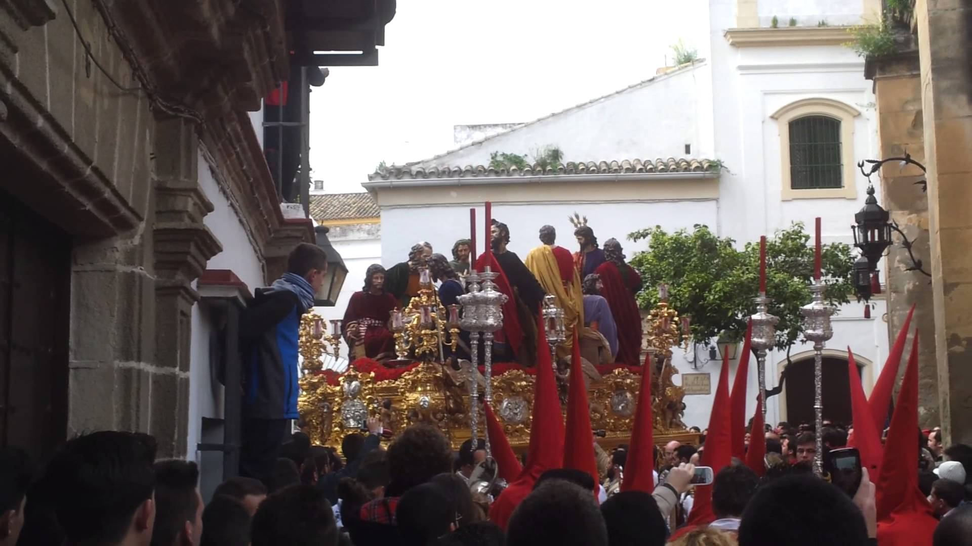 Video: Lunes Santo naciendo por San Marcos
