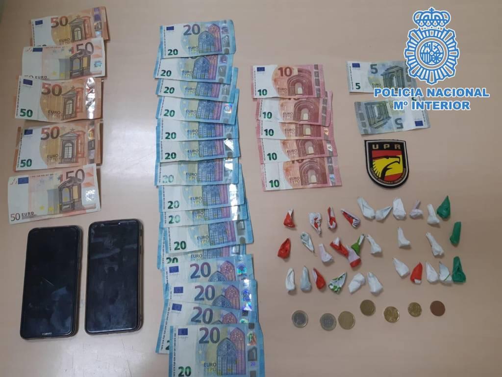Detenidas dos personas por venta de cocaína en las calles de Jerez
