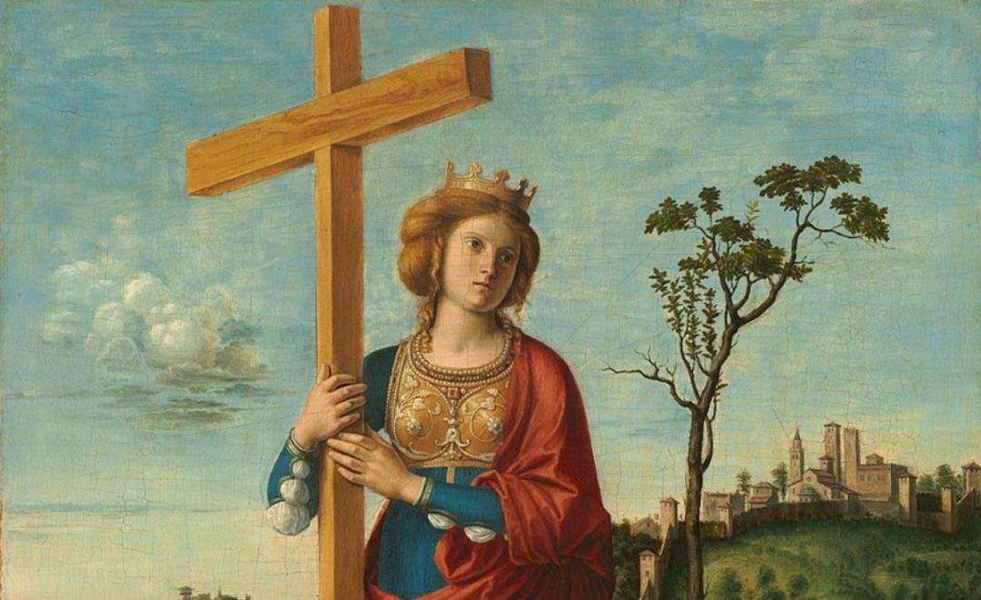 Santa Elena, descubridora de la Cruz del Señor