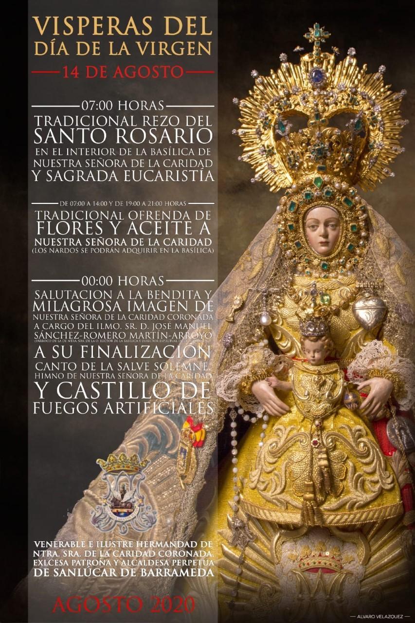 Sanlúcar Se Cita Con Su Patrona La Virgen De La Caridad
