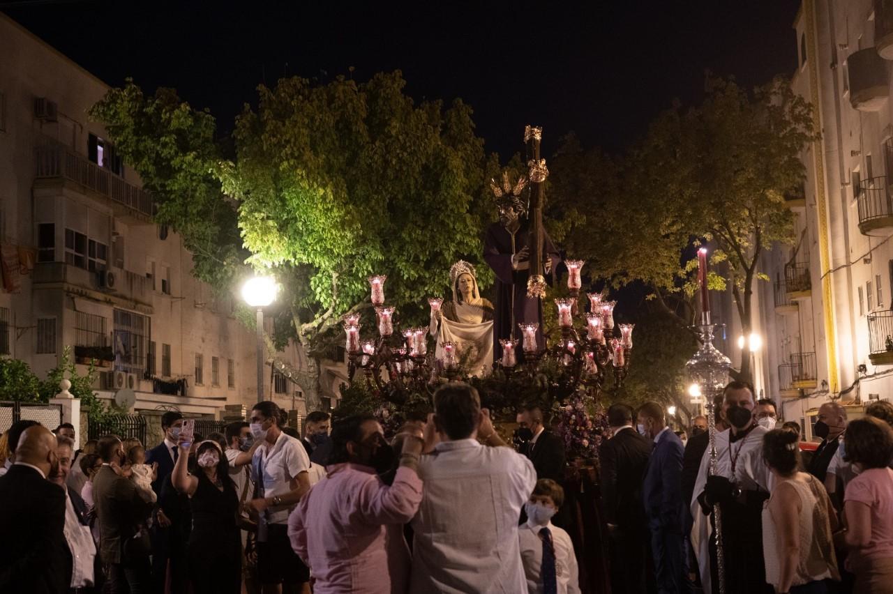 TV: Así fue el regreso a Santa Ana del Señor de las Misericordias