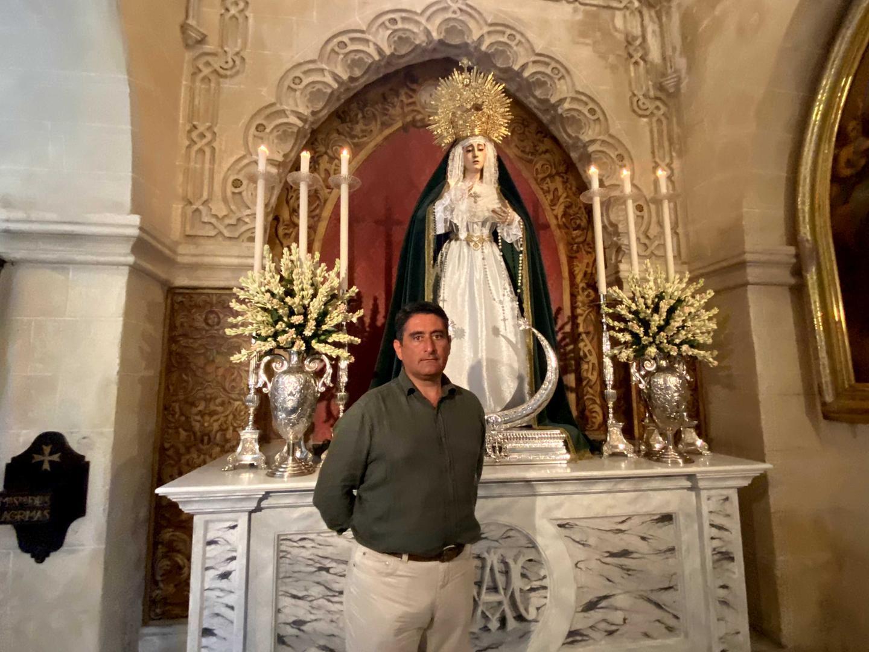 Manuel Báez Martín, único candidato a hermano mayor en la Vera Cruz