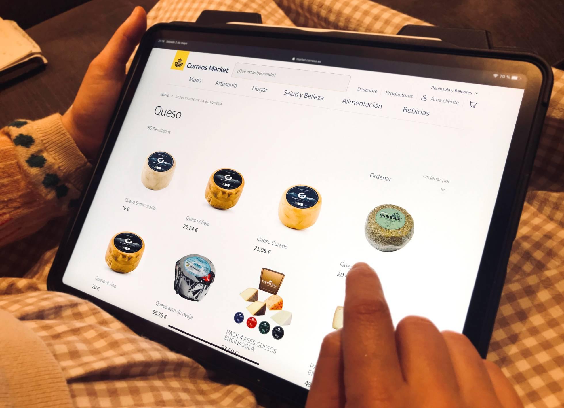La plataforma Correos Market cuenta ya con 15 vendedores de la provincia