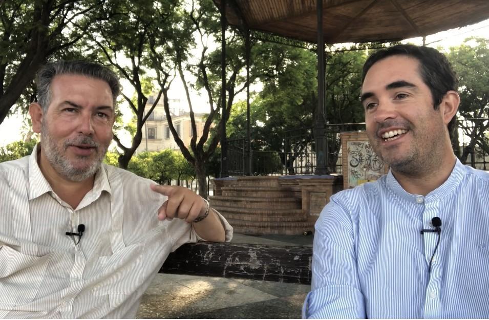 ''Vamos hasta Guadalupe en bicicleta, para colaborar con la asociación 'Calor en la Noche'