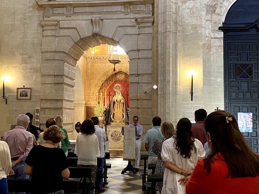 La Vera Cruz celebrará el domingo, la festividad de la Asunción de la Virgen