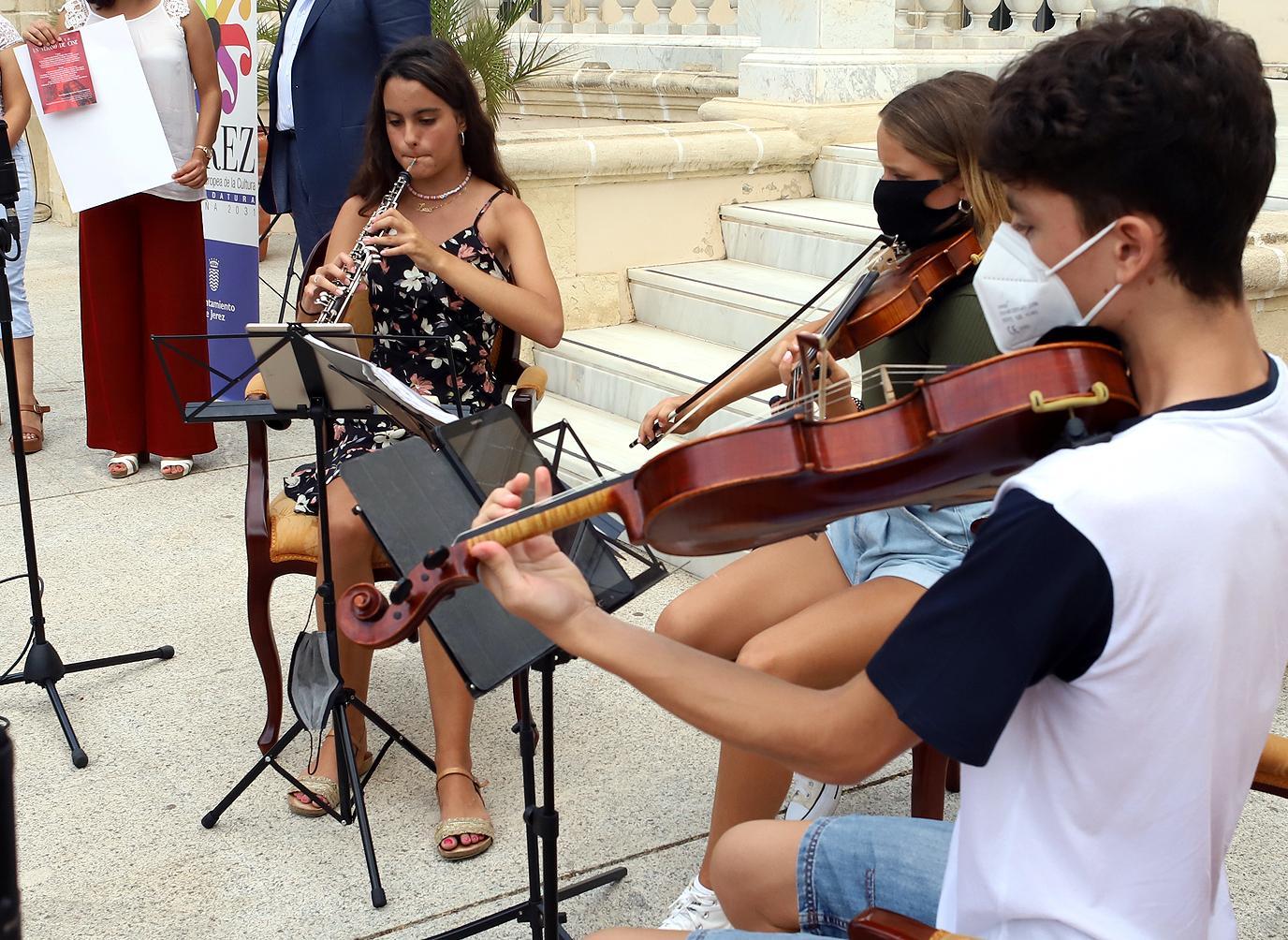 La Joven Orquesta Campos Andaluces ofrecerá en Jerez un concierto de bandas sonoras bajo el título 'Un verano de cine'
