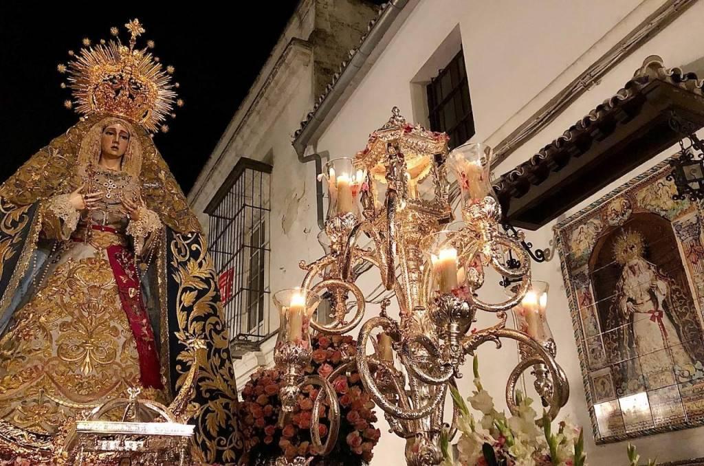 TV: Así os contamos el traslado de la Virgen de la Concepción a la Catedral