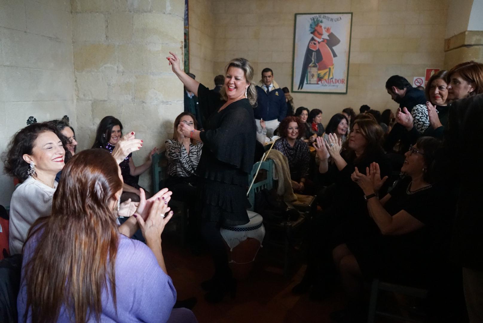 La Peña Flamenca 'Buena Gente' y Bodegas Fundador vuelven a celebrar con éxito la Navidad en Jerez