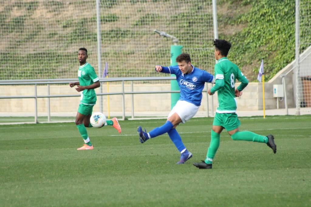 Derrota del Xerez DFC B frente al combinado de Arabia Saudí en el amistoso de Salou (2-0)