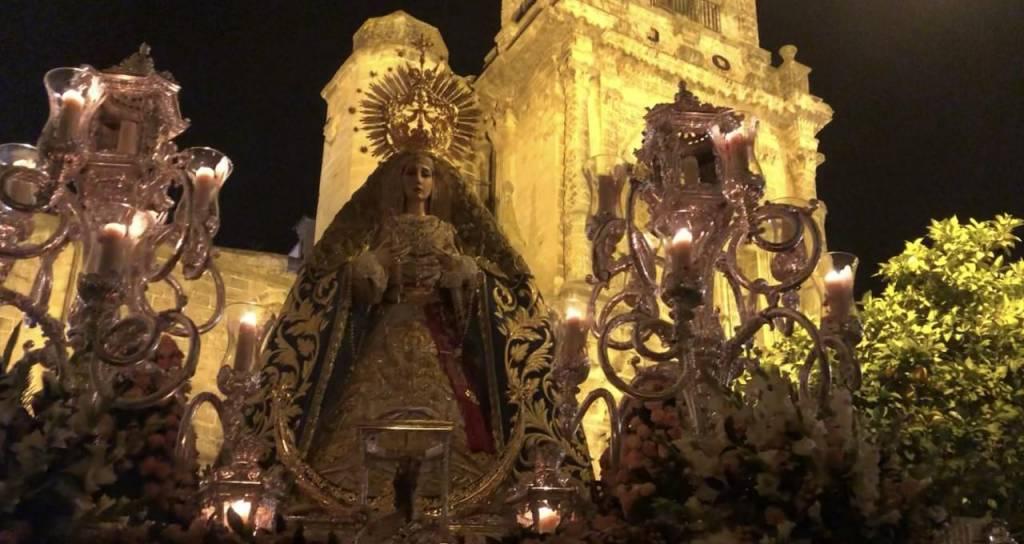 TV: La Virgen de la Concepción, en la Plaza León XIII