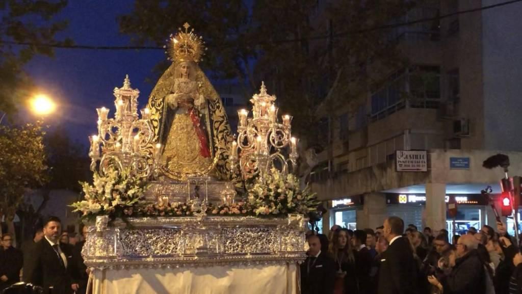 TV: La Virgen de la Concepción, en calle Medina