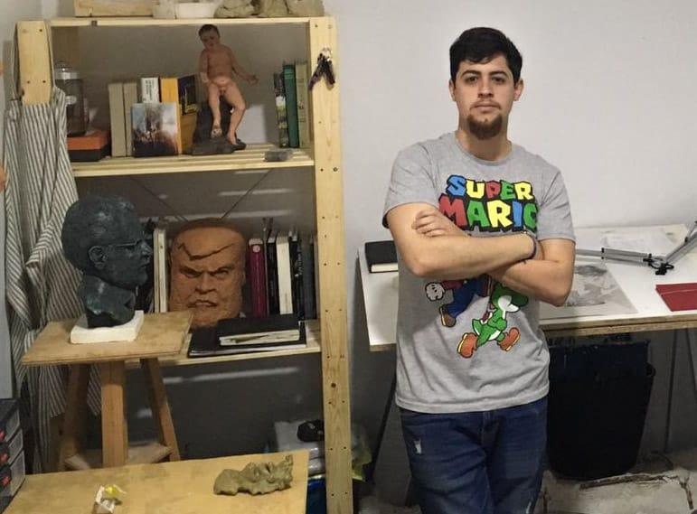 José Miguel González pintará el cartel de 'Las Glorias'