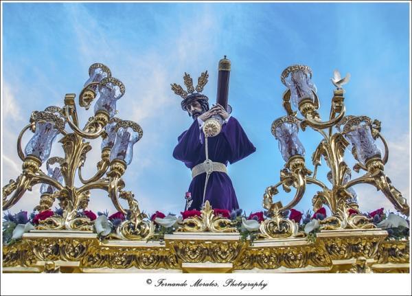 Inminente restauración del Señor del Amparo