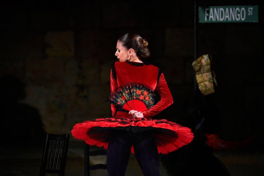 Sara Calero estrena 'Fandango Avenue' en el Festival Internacional Madrid en Danza