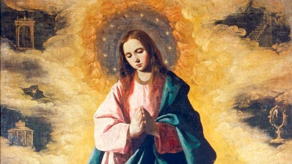 8 de diciembre: Solemnidad de la Purísima