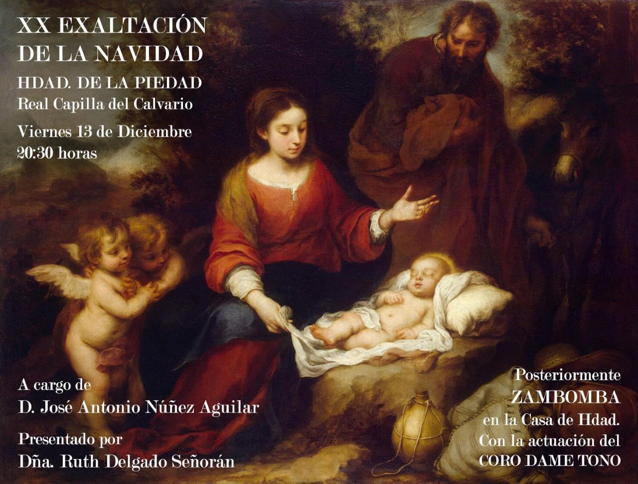 La Navidad, según la Hermandad de la Piedad