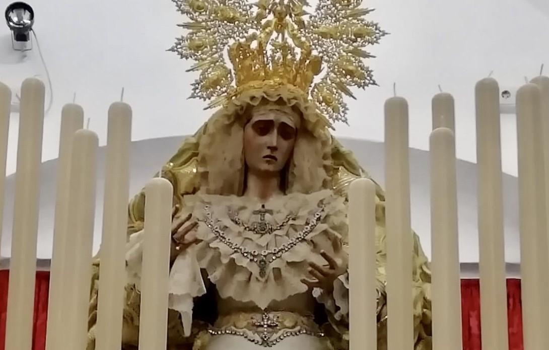 Este domingo, Rosario de la Aurora en la Plazuela