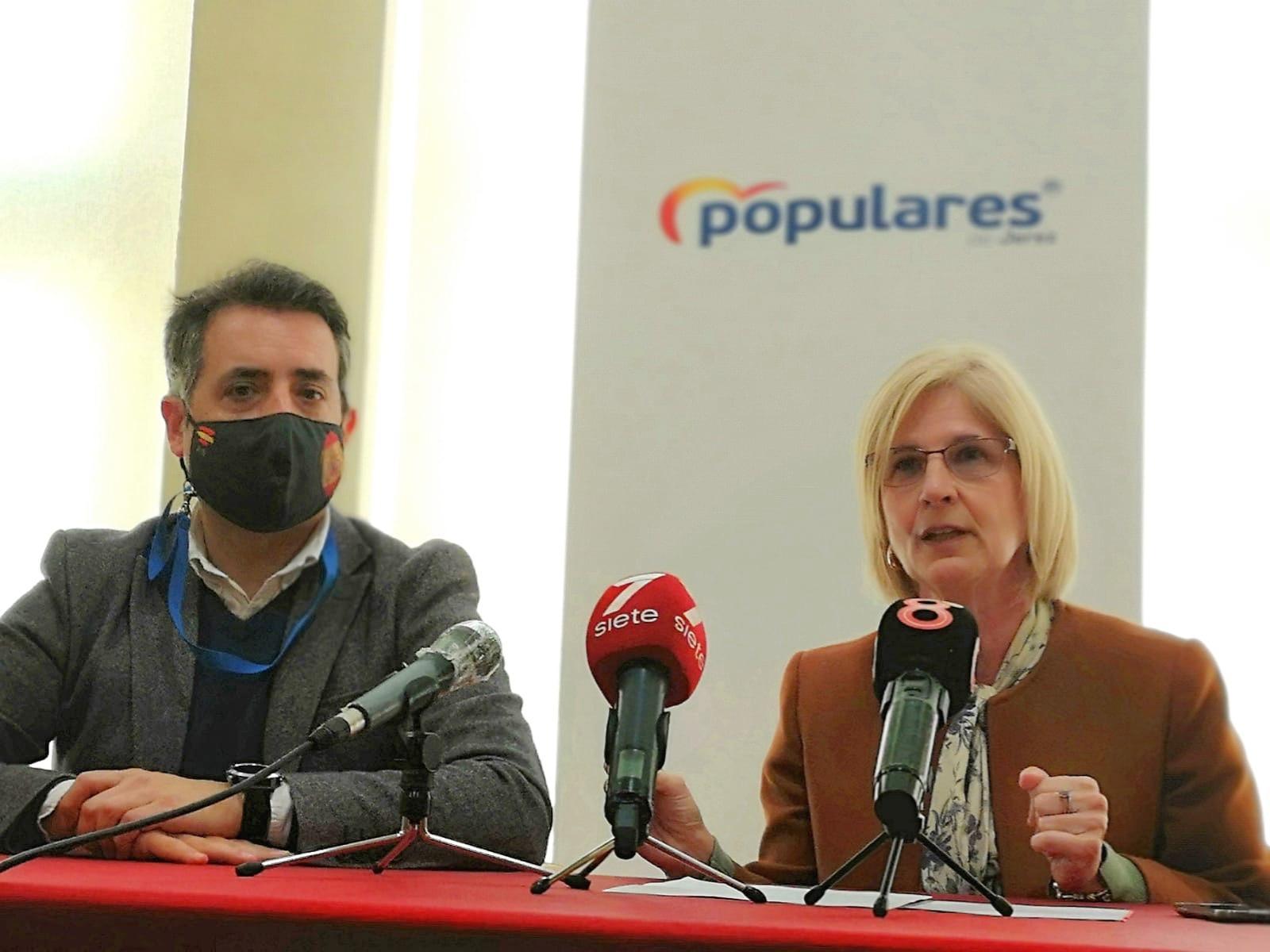 """García-Pelayo (PP): """"Además de la pandemia, Jerez ha sufrido en 2020 el abandono del PSOE"""""""