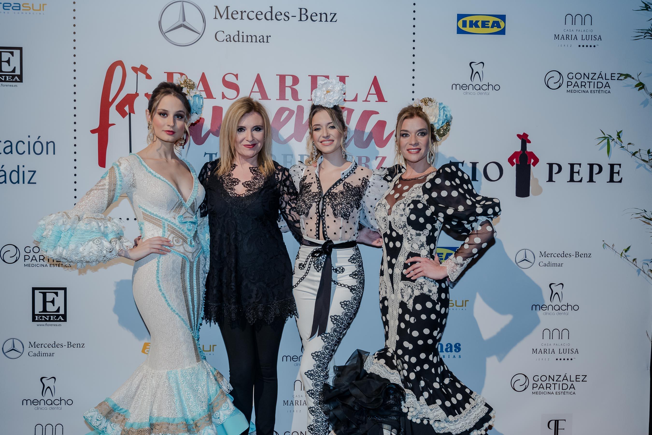 El traje de flamenca se reinventa en el tercer día de la Pasarela Flamenca de Jerez 2020