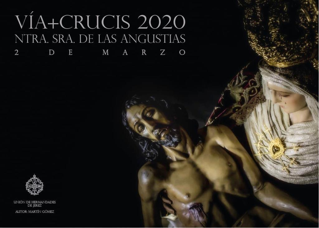 La Virgen de las Angustias irá bajo palio en el Vía Crucis del próximo 2 de marzo