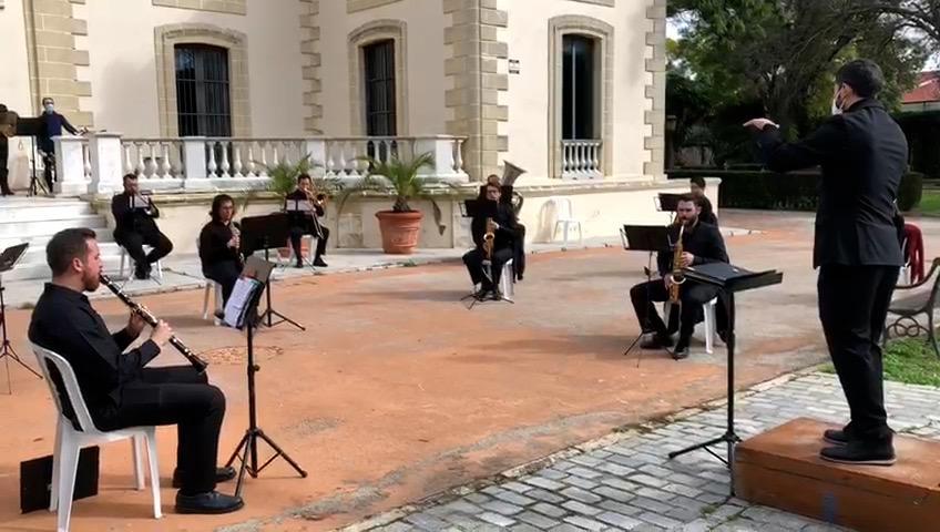 La Banda Municipal de Música de Jerez ofrece su repertorio a través de las redes