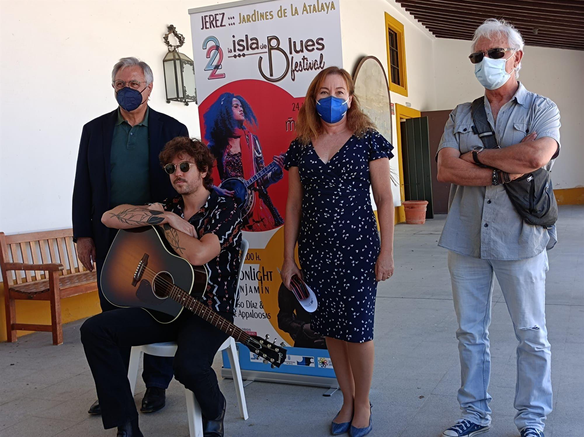 Jerez acogerá el festival 'La Isla del Blues' los días 24 y 25 de julio