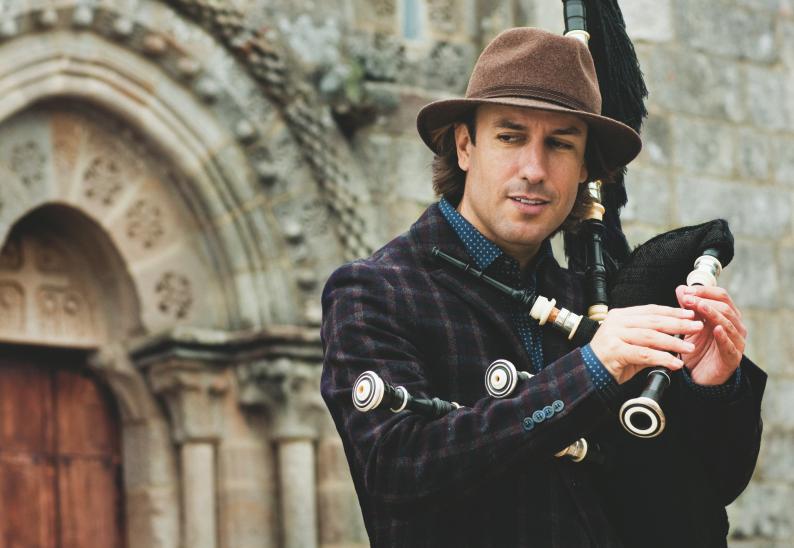 Carlos Núñez rinde homenaje a la música celta de Beethoven en el ciclo 'Noches de Bohemia'