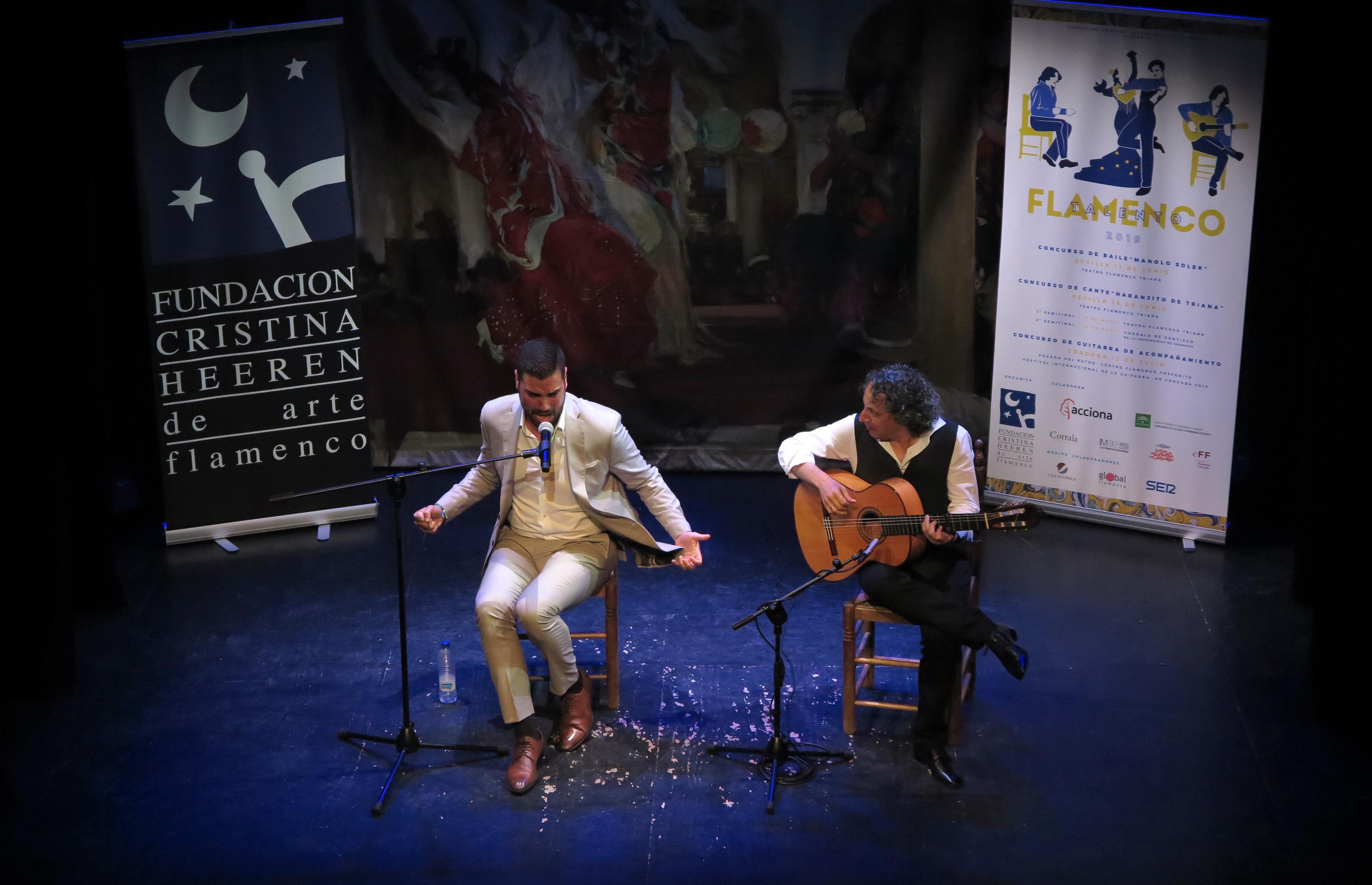 Arrancan los concursos Talento Flamenco de la Fundación Cristina Heeren