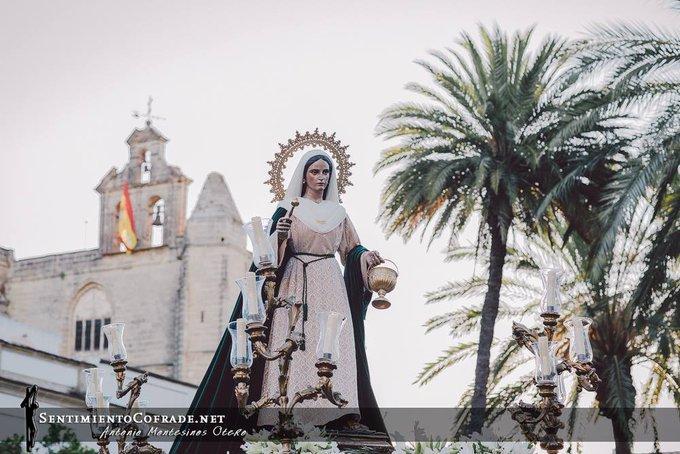 Este domingo, traslado de Santa Marta a la Basílica de la Merced