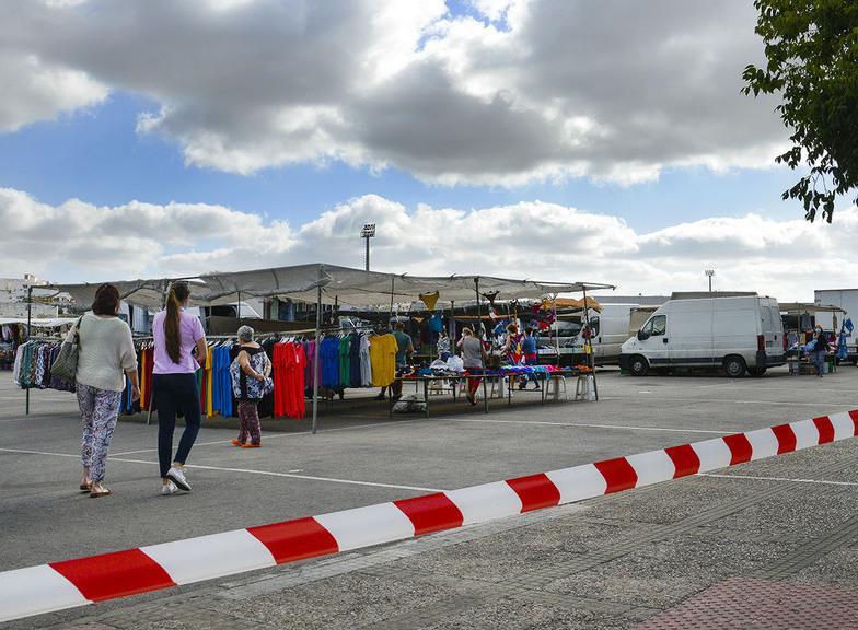 Ciudadanos solicita al Ayuntamiento de Jerez una mejor ubicación para el Mercadillo de la Granja