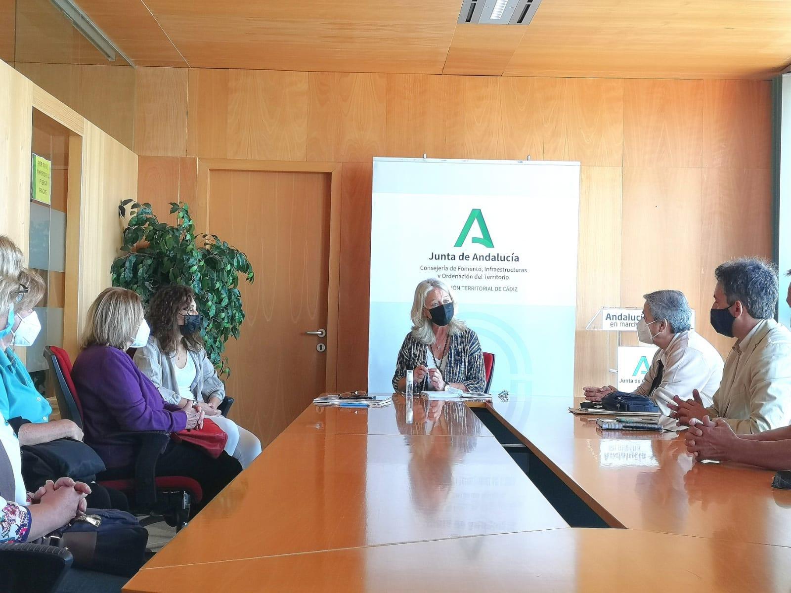 Saldaña valora los pasos firmes de la Junta de Juanma Moreno para la rehabilitación de La Constancia