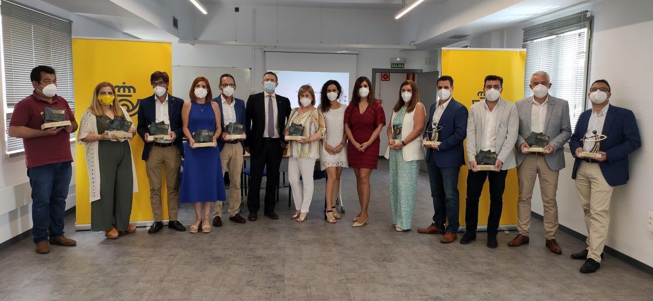 Correos celebra en Andalucía el acto de entrega de sus Premios 2019 y 2020