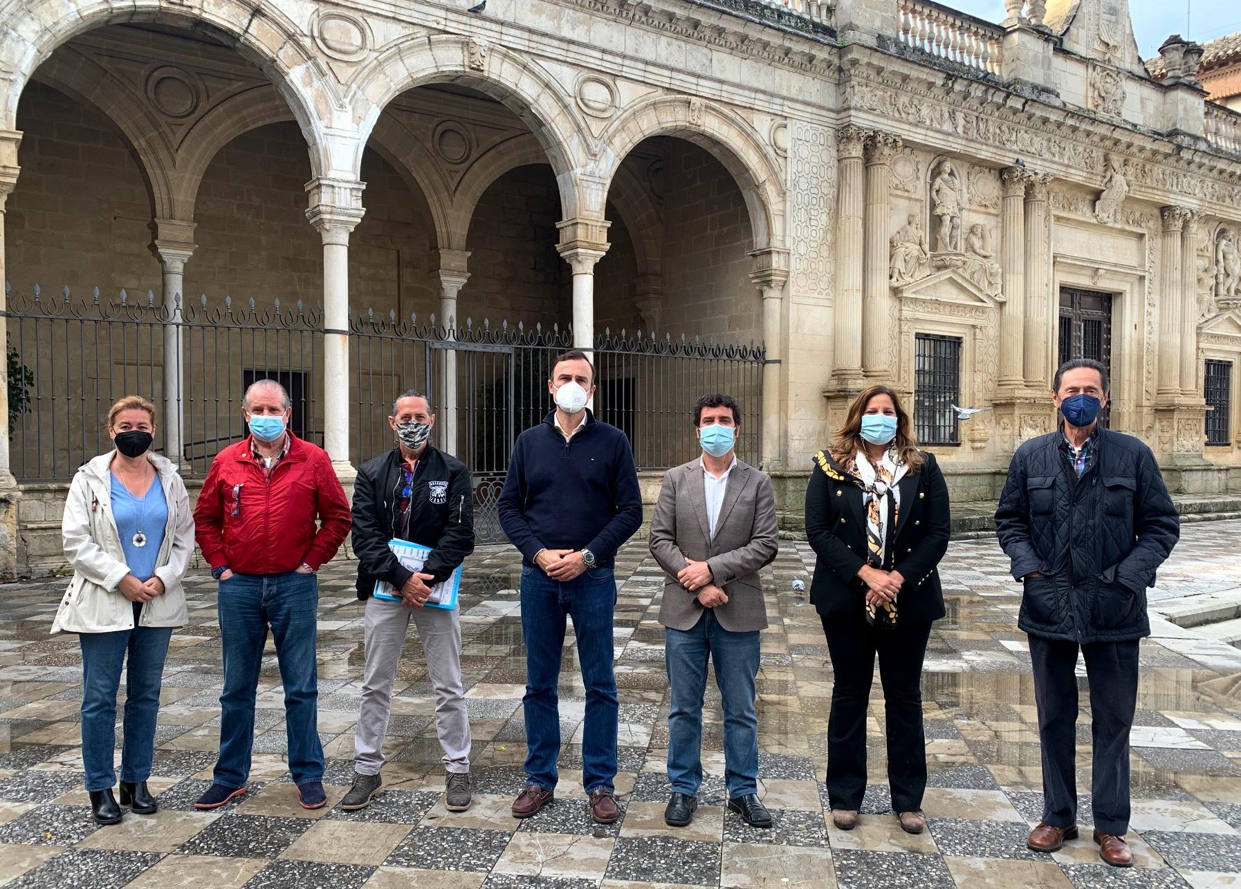 """Méndez (Cs): """"El motor puede ser una de las banderas de la recuperación de Jerez"""""""