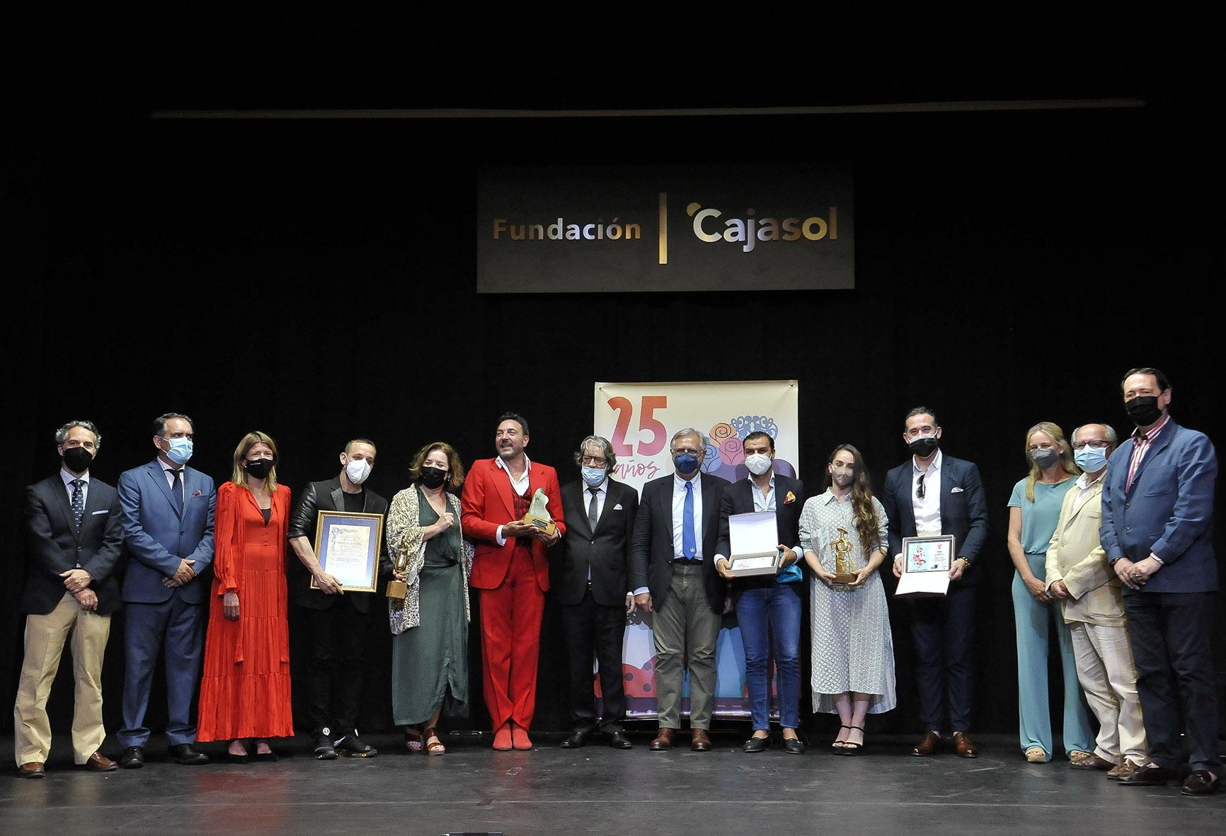 El Festival de Jerez entrega los premios a los artistas más destacados de la pasada edición