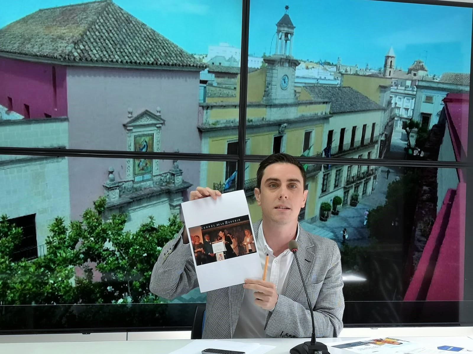 """Jaime Espinar (PP): """"El contrato del Centro del Motor huele a chanchullo del PSOE de Mamen Sánchez"""""""