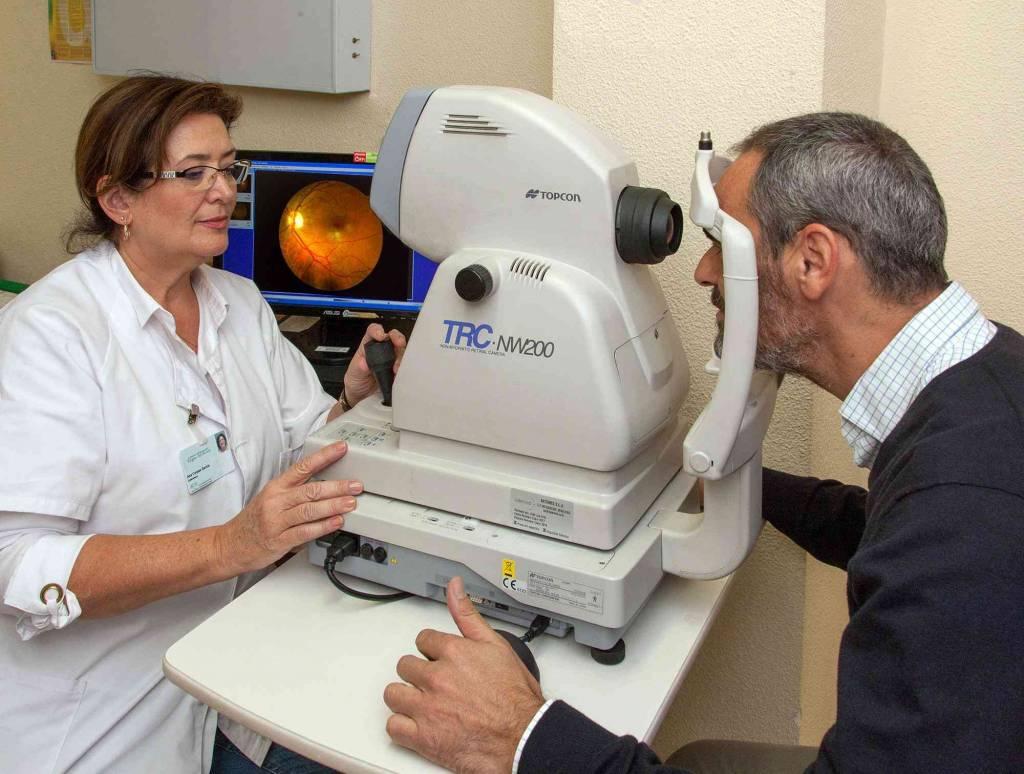 El SAS realiza retinografías a más de 5.100 diabéticos de la provincia para prevenir cegueras