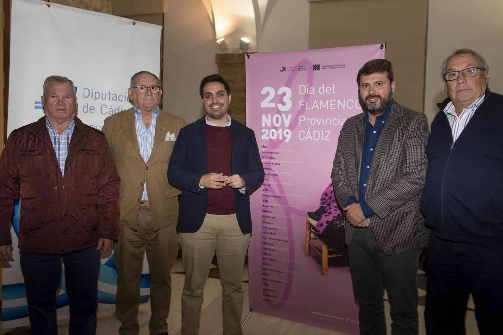 Quince recitales de cante para celebrar el Día del Flamenco de la Provincia de Cádiz