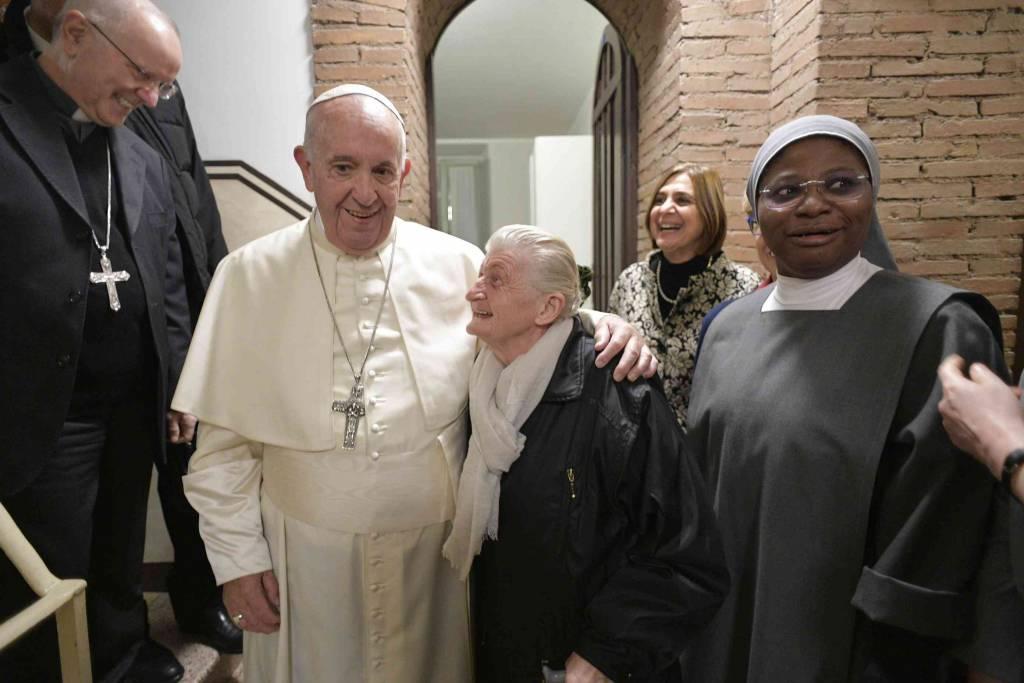 Centro de acogida para pobres, en el Vaticano