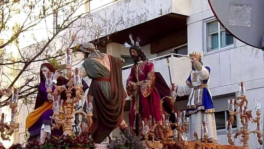La Hermandad de Pasión pasará por Carpintería Baja y Tornería