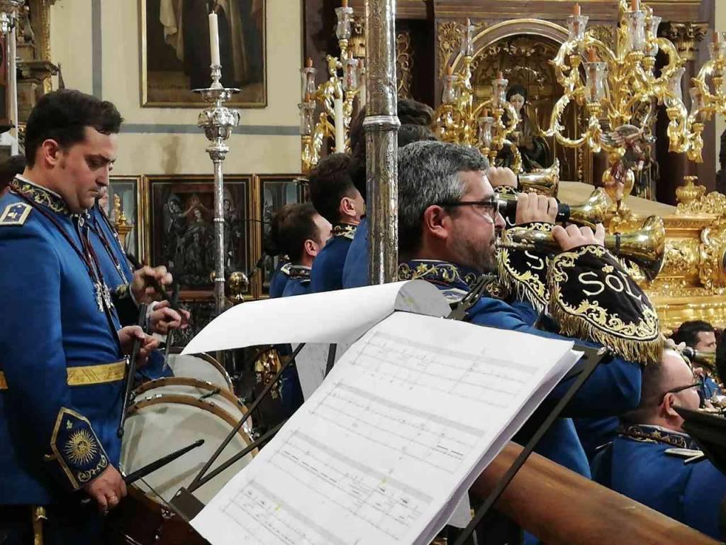 Concierto solemne de la Banda del Sol, este viernes, en Sevilla