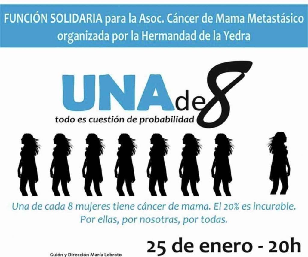 Función solidaria de la Hermandad de la Yedra, contra el cáncer de mama