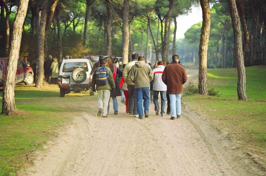 Fin de semana de peregrinación de la Hermandad del Rocío de Jerez