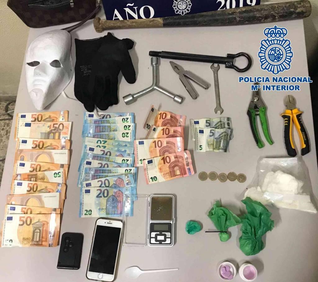 Detenido un joven en Pozoalbero con más de 200 gramos de cocaína y pastillas de MDMA en su coche