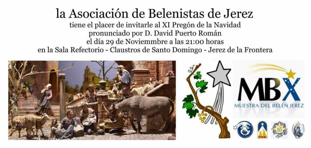 Este viernes, Pregón de la Navidad de la Asociación de Belenistas de Jerez