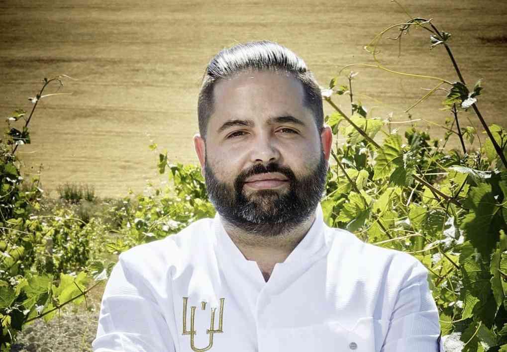 El chef Juanlu Fernández, 'Padrino del Mosto' de la Asociación Andaluza de Enólogos