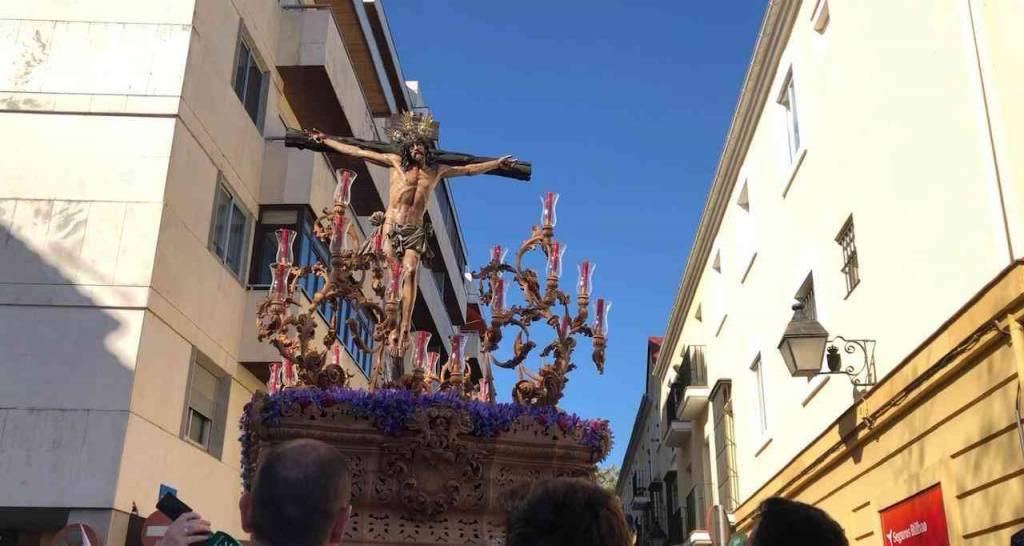 TV: El Cristo de la Sed llegando a Carrera Oficial