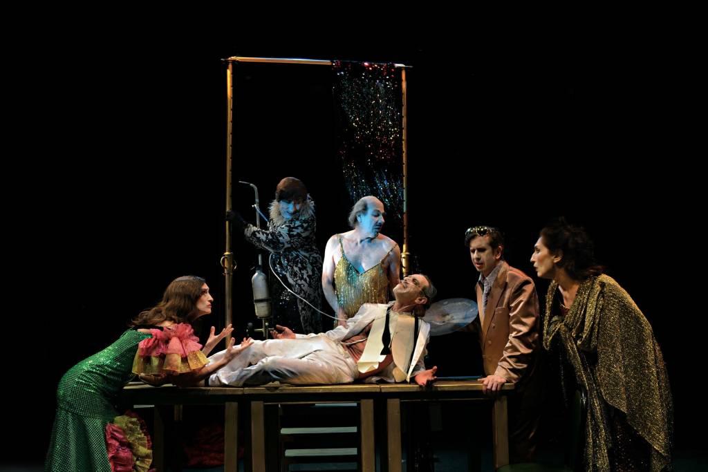 Gabino Diego llega al Teatro Villamarta de la mano de La Zaranda