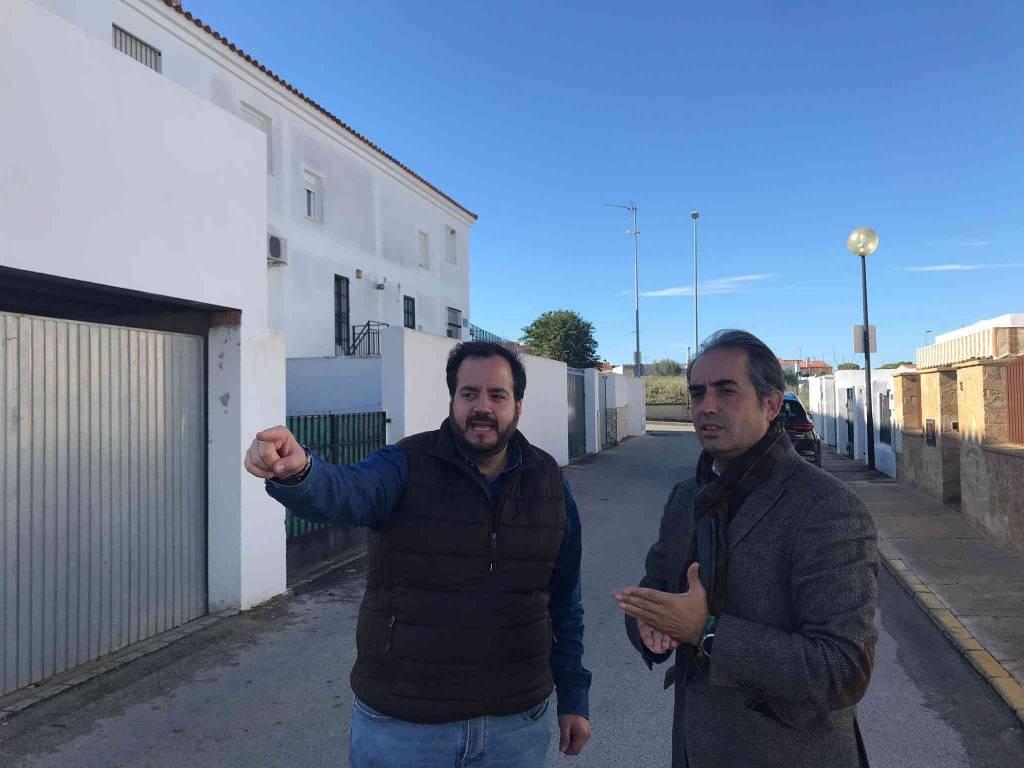 Saldaña exige a Mamen Sánchez que arregle el saneamiento en calles de Estella