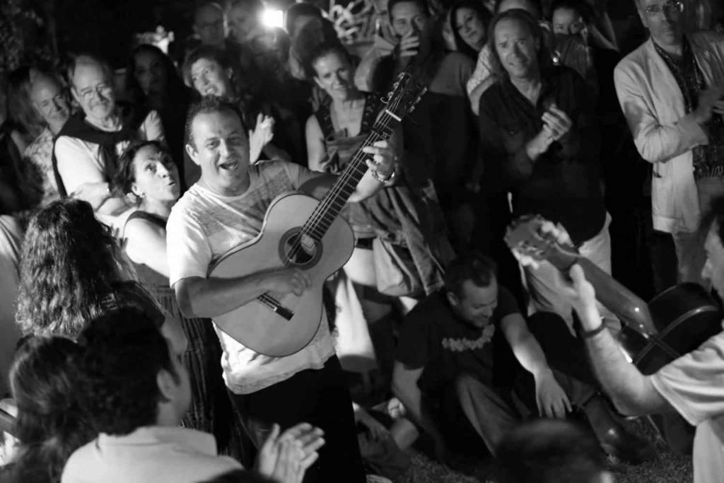 El 'jazz' y el flamenco se enlazan en el Teatro Leal con la Big Band de Canarias y Gerardo Núñez