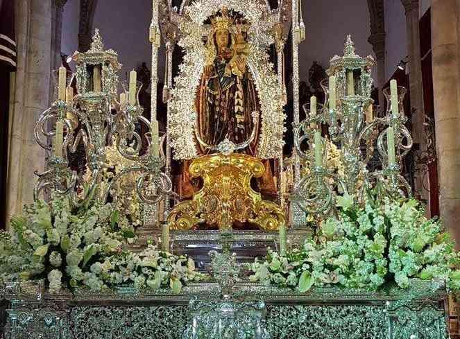 La Virgen de la Concepción ya tiene paso para su traslado a la Catedral